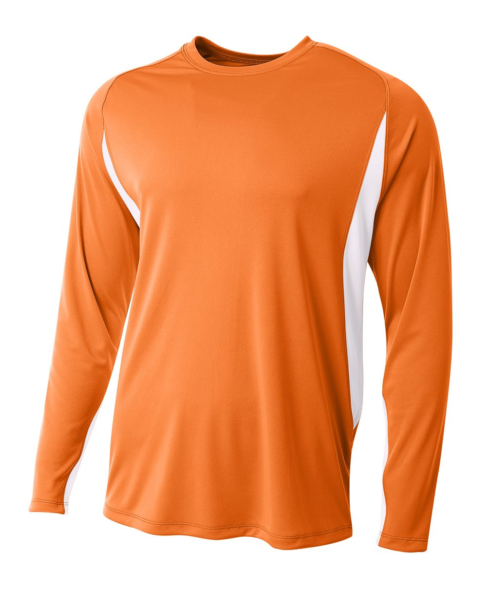 *A4 Men/'s Cooling Performance Long Sleeve Crew Neck Tee Shirt 8 COLORS-3165 NEW